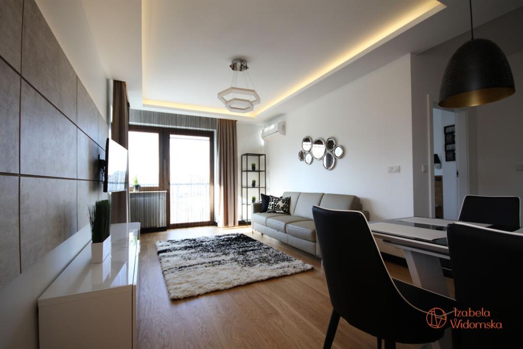 Apartament w kolorze cappucino | Ciepło Komfort Przestrzeń | Projekt wnętrza architekt Izabela Widomska