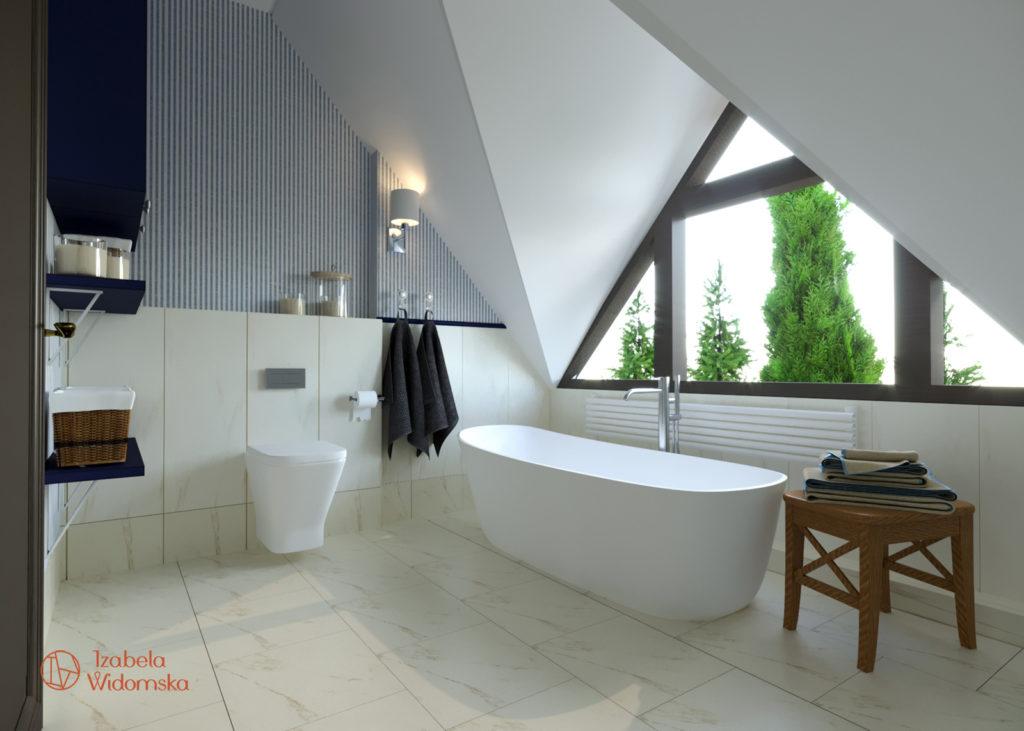Dom z zieloną wyspą | Harmonia, Subtelne wnętrze | Projekt wnętrza architekt Izabela Widomska