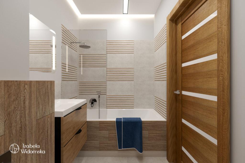 Mieszkanie dla pana Waldemara | Komfort Harmonia Dopasowanie | Projekt wnętrza architekt Izabela Widomska
