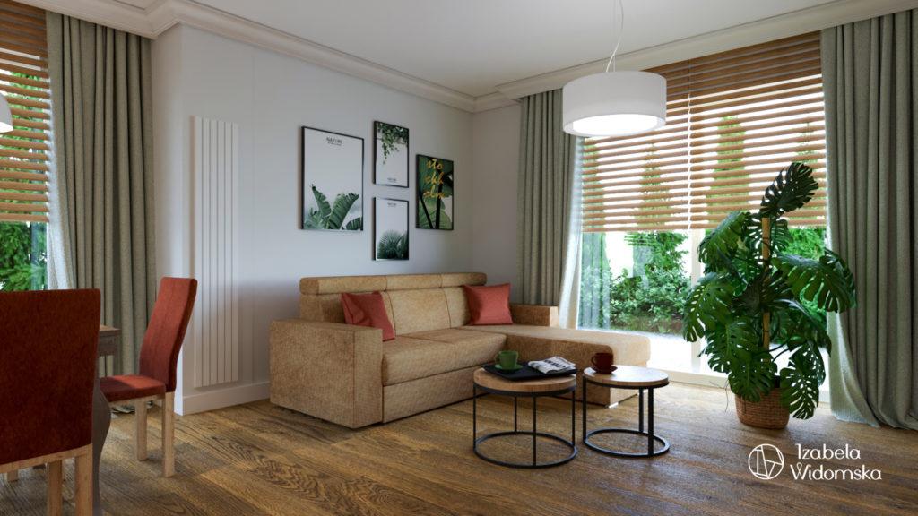 Dom za miastem z elementami stylu klasycznego | Harmonia Ciepło Komfort | Projekt wnętrza architekt Izabela Widomska